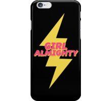 girl almighty - black v2 iPhone Case/Skin