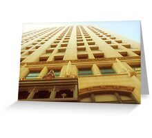 Cityscapes - Back in Time Greeting Card
