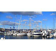 Hobart Yachts Photographic Print