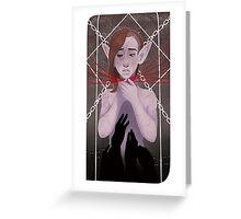Tarot Card Greeting Card