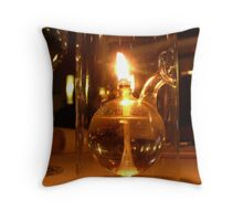 Candle Lit Dinner Throw Pillow