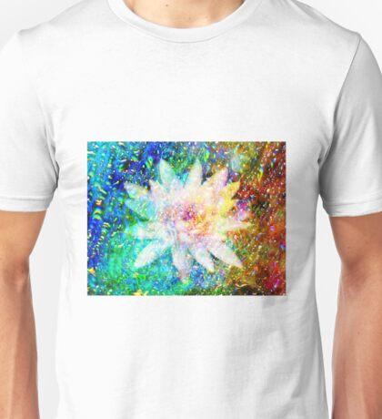 Iridescent Lily flower Unisex T-Shirt