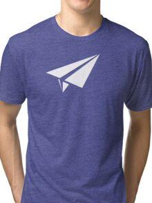 Paper AirPlane Tri-blend T-Shirt