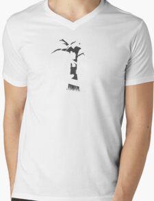 A Wrong Turn Mens V-Neck T-Shirt