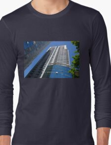 Exterior of Modern Buildings in Buenos Aires, Argentina Long Sleeve T-Shirt