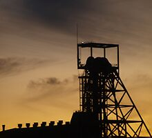 Number 3 shaft headframe by Topher Webb