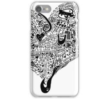 Heart Full graffiti love iPhone Case/Skin
