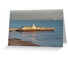 Bournemouth Pier and The Needles Greeting Card