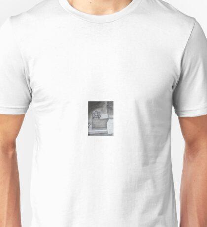 Jenga blocks and cardboard boxes Unisex T-Shirt