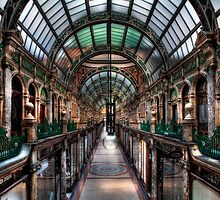 County Arcade Leeds by Les Forrester