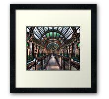 County Arcade Leeds Framed Print
