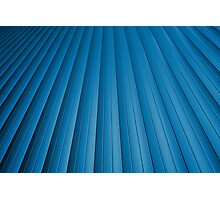 Blue abstract background Photographic Print
