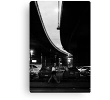 in the gap Canvas Print