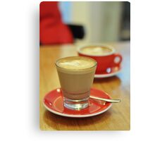 coffee coloured afternoon Canvas Print