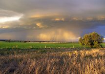 Late afternoon Storm by julie anne  grattan