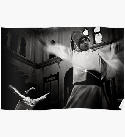 Whirling Dervish dance Poster