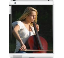 Jilly Playing the Chello iPad Case/Skin
