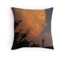 Clouds at Sunrise Throw Pillow