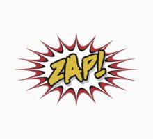 Zap Cartoon pop art Baby Tee
