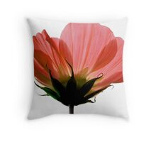 A Hue of Red Throw Pillow