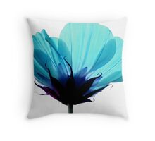 A Hue of Blue Throw Pillow