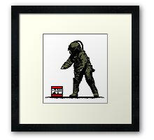 POW & BombSquad Framed Print