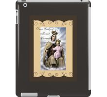 Story of Brown Scapular iPad Case/Skin