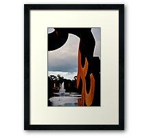 Torrens Sculpture Framed Print