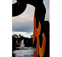 Torrens Sculpture Photographic Print