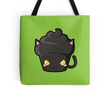 Spooky Cupcake - Black Cat Tote Bag