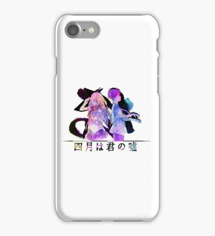 Shigatsu wa Kimi no Uso / Colorful  iPhone Case/Skin