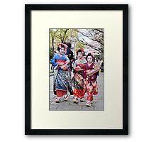 Little Maiko Framed Print