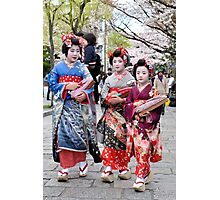 Little Maiko Photographic Print