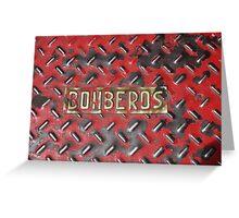 Bomberos Greeting Card