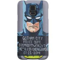 Batman Mugshot Samsung Galaxy Case/Skin