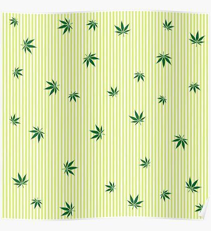 Cannabis rain Poster