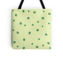 Cannabis rain Tote Bag