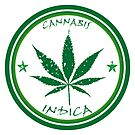 Cannabis stamp by robertosch