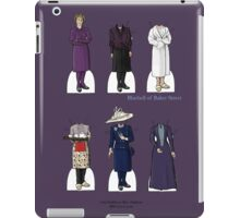 Mrs Hudson Paper Dolls iPad Case/Skin