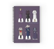 Mrs Hudson Paper Dolls Spiral Notebook
