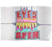 EYES OPEN - LARGE FORMAT Poster