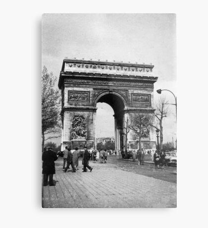 Arc de Triomphe - Paris 1960 Metal Print