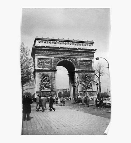 Arc de Triomphe - Paris 1960 Poster