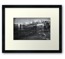 curve into queensborough plaza Framed Print