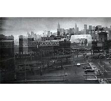 curve into queensborough plaza Photographic Print