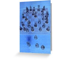 Kings And Glass Castles Greeting Card