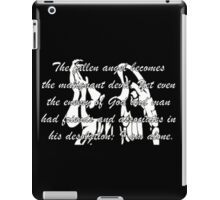 The Fallen Angel Frankenstein iPad Case/Skin