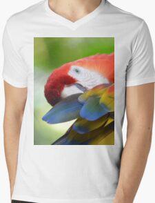 Arara Mens V-Neck T-Shirt
