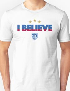 I Believe USA Women's Soccer Team Shirt 2 T-Shirt