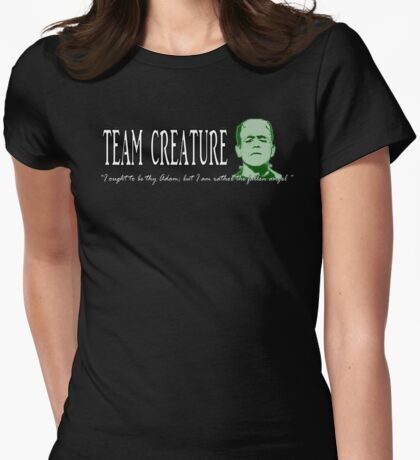 Team Creature! Womens Fitted T-Shirt